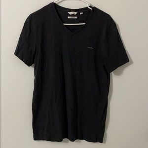 Men's Calvin Klein Pima Cotton Dark Gray Shirt